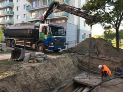 Práce s hydraulickou rukou
