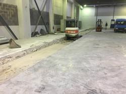 Búranie podlahy Regionpress Trnava