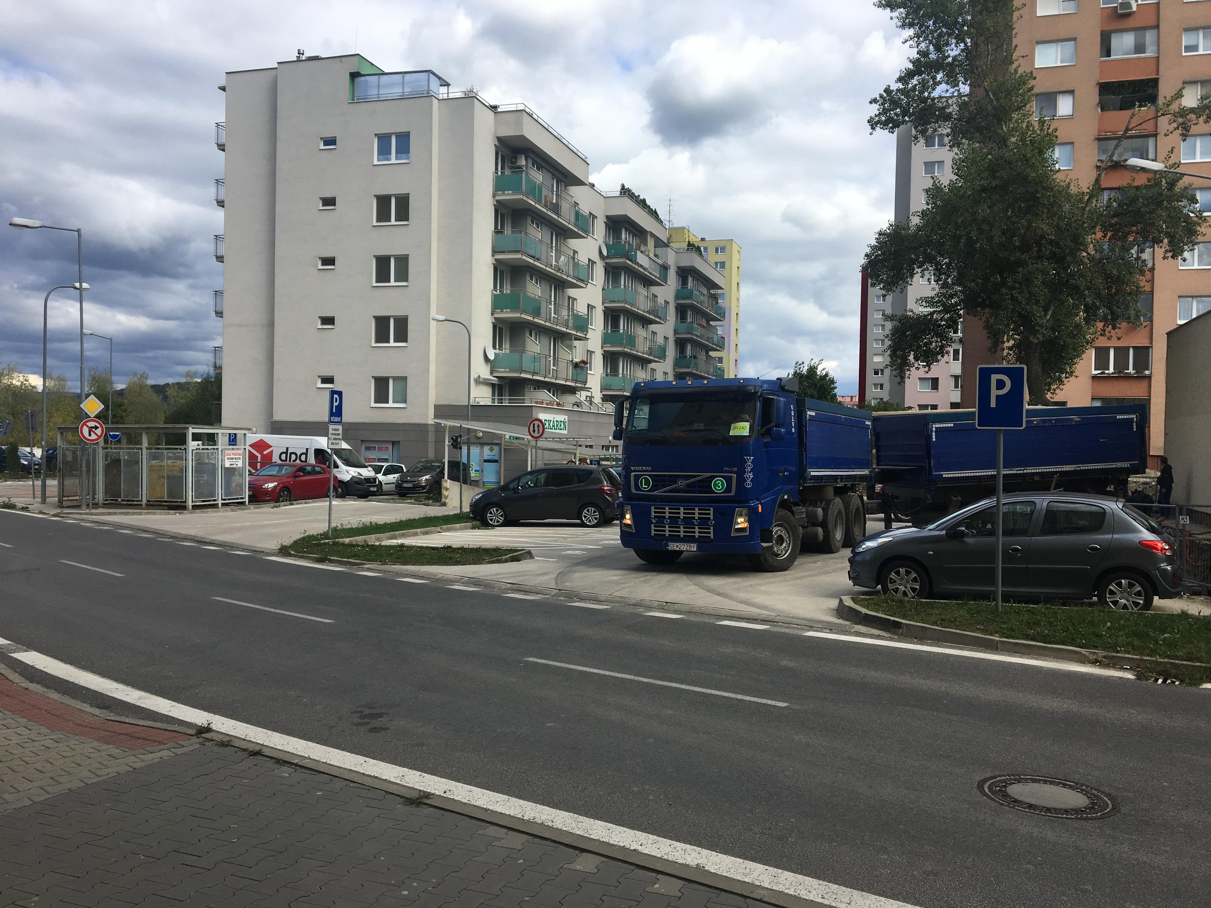 doprava makadamu Bratislava