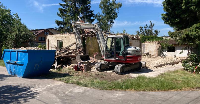 Nakládka stavebného odpadu