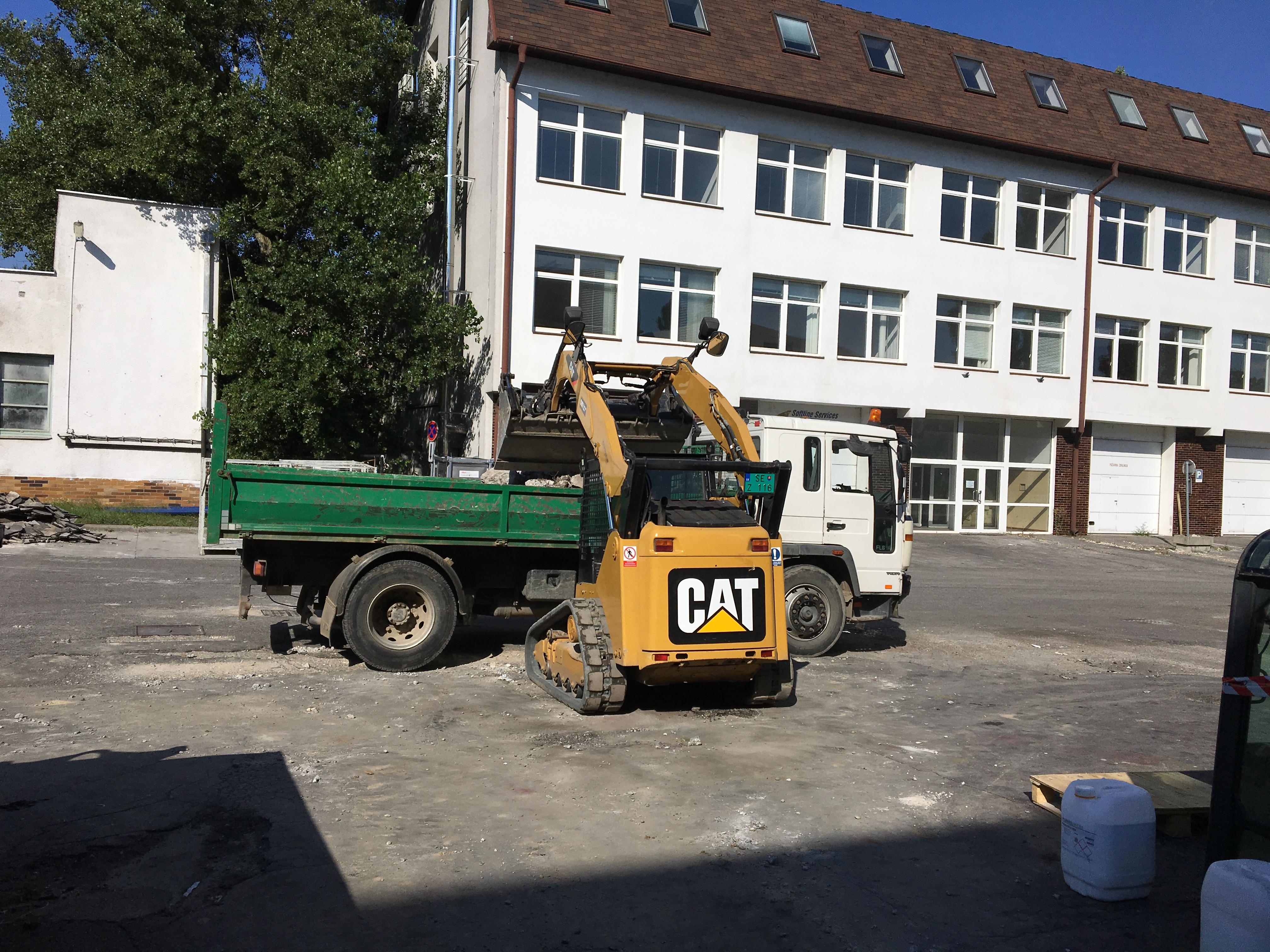 Nakladanie a odvoz betónu Bratislava