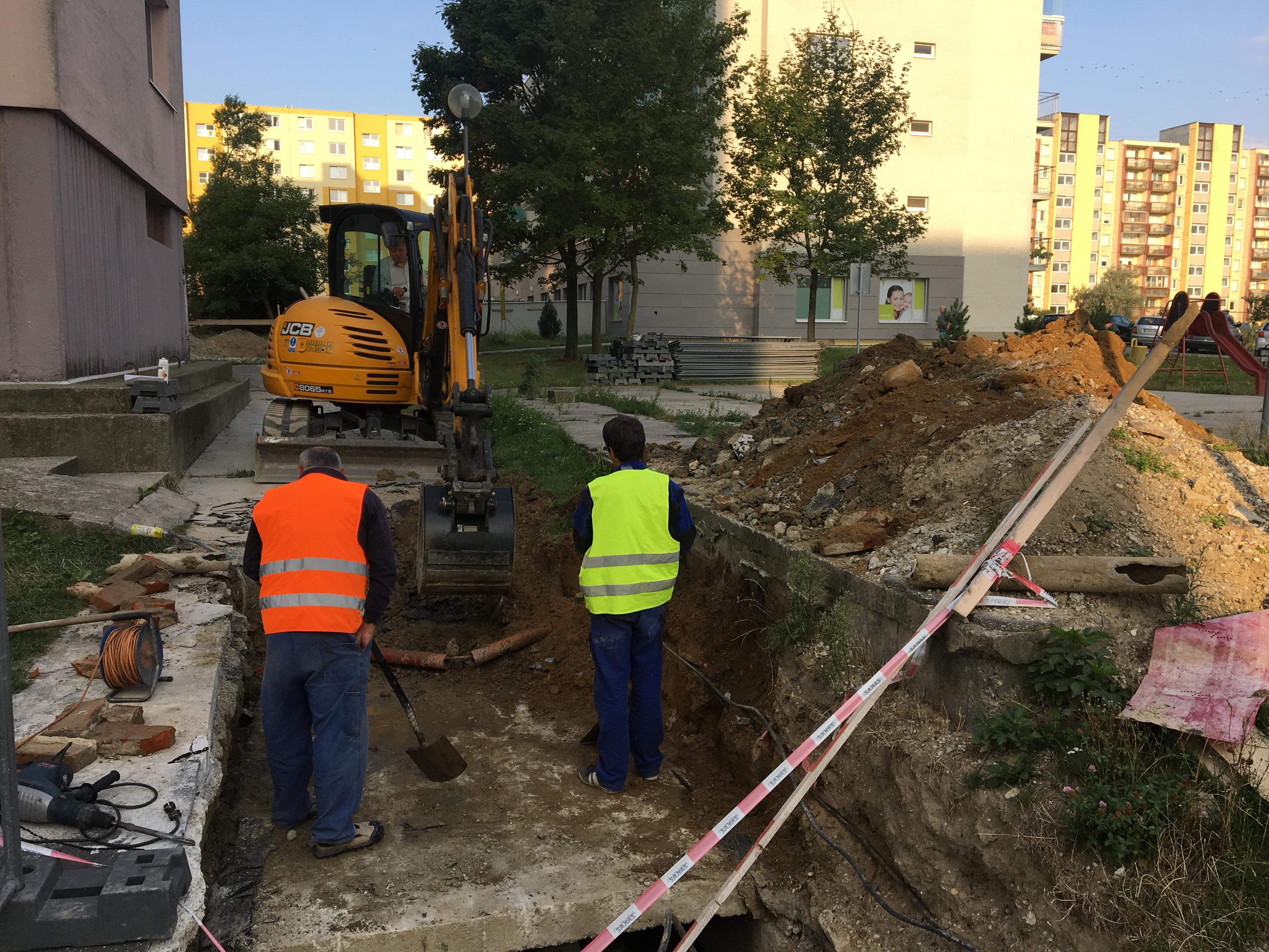ručné výkopové práce Bratislava