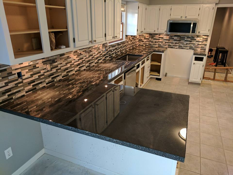 Custom Epoxy Countertop