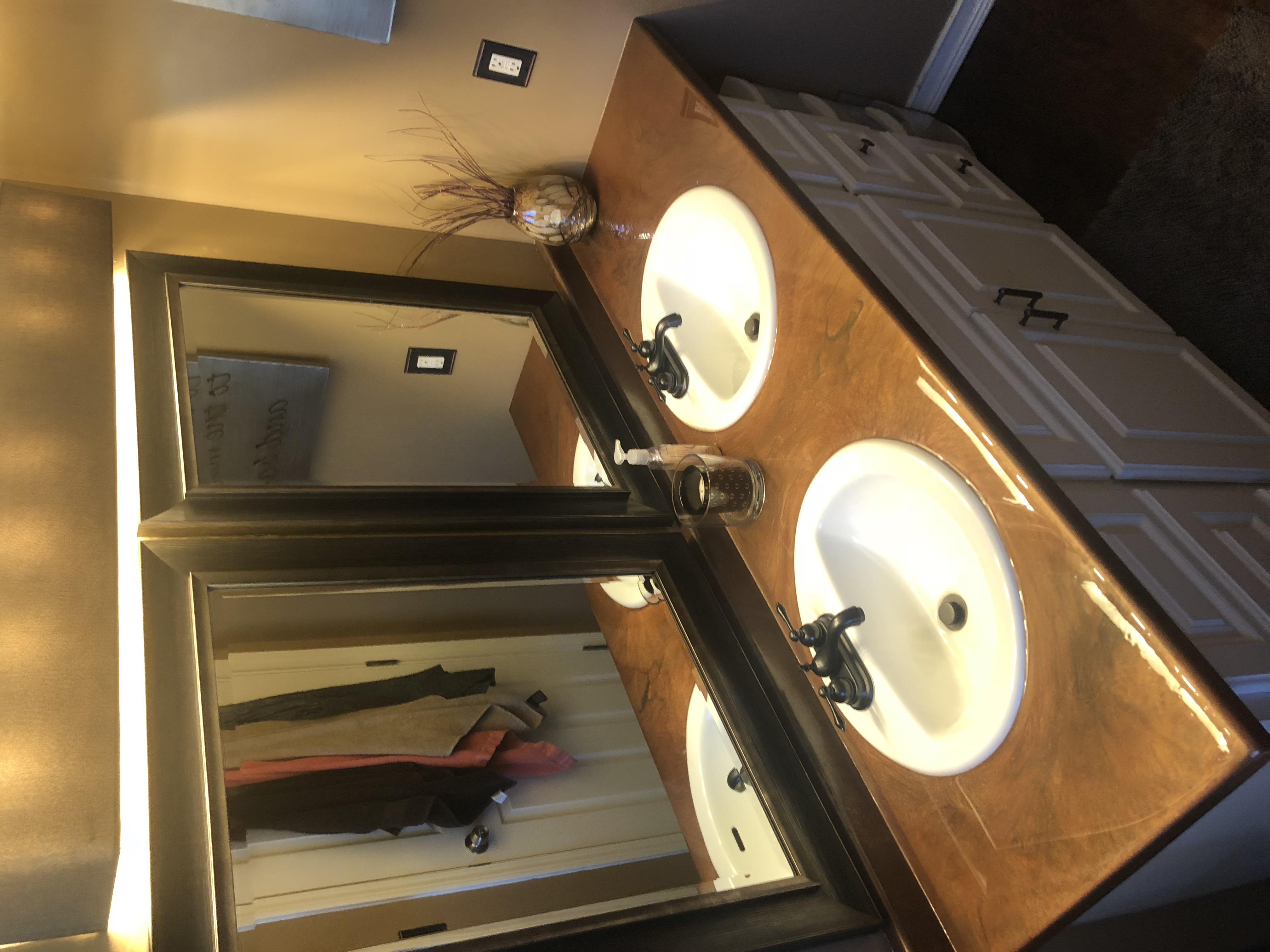 Bathroom Vanity Remodel!!