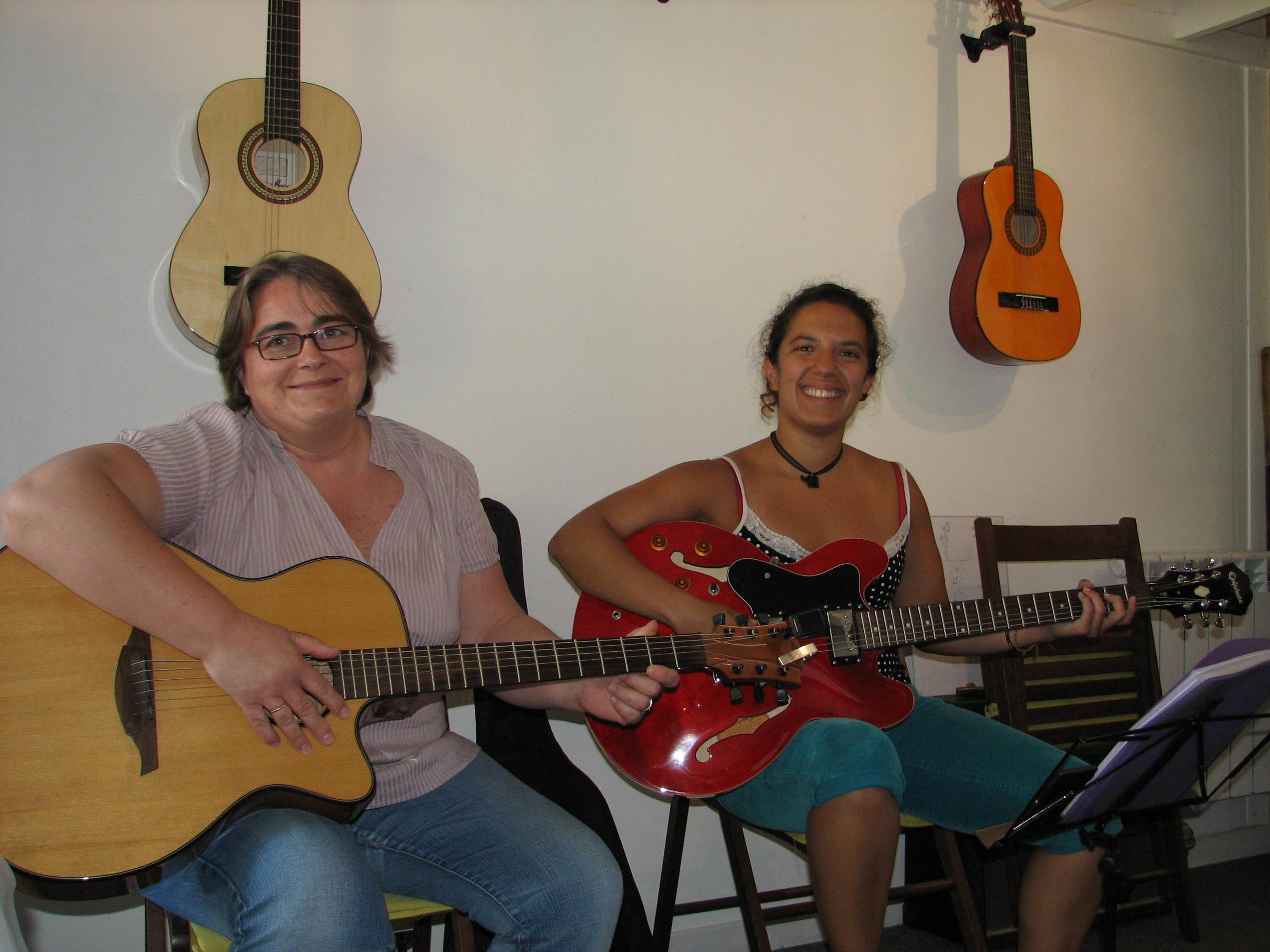 Carole et Nathalie