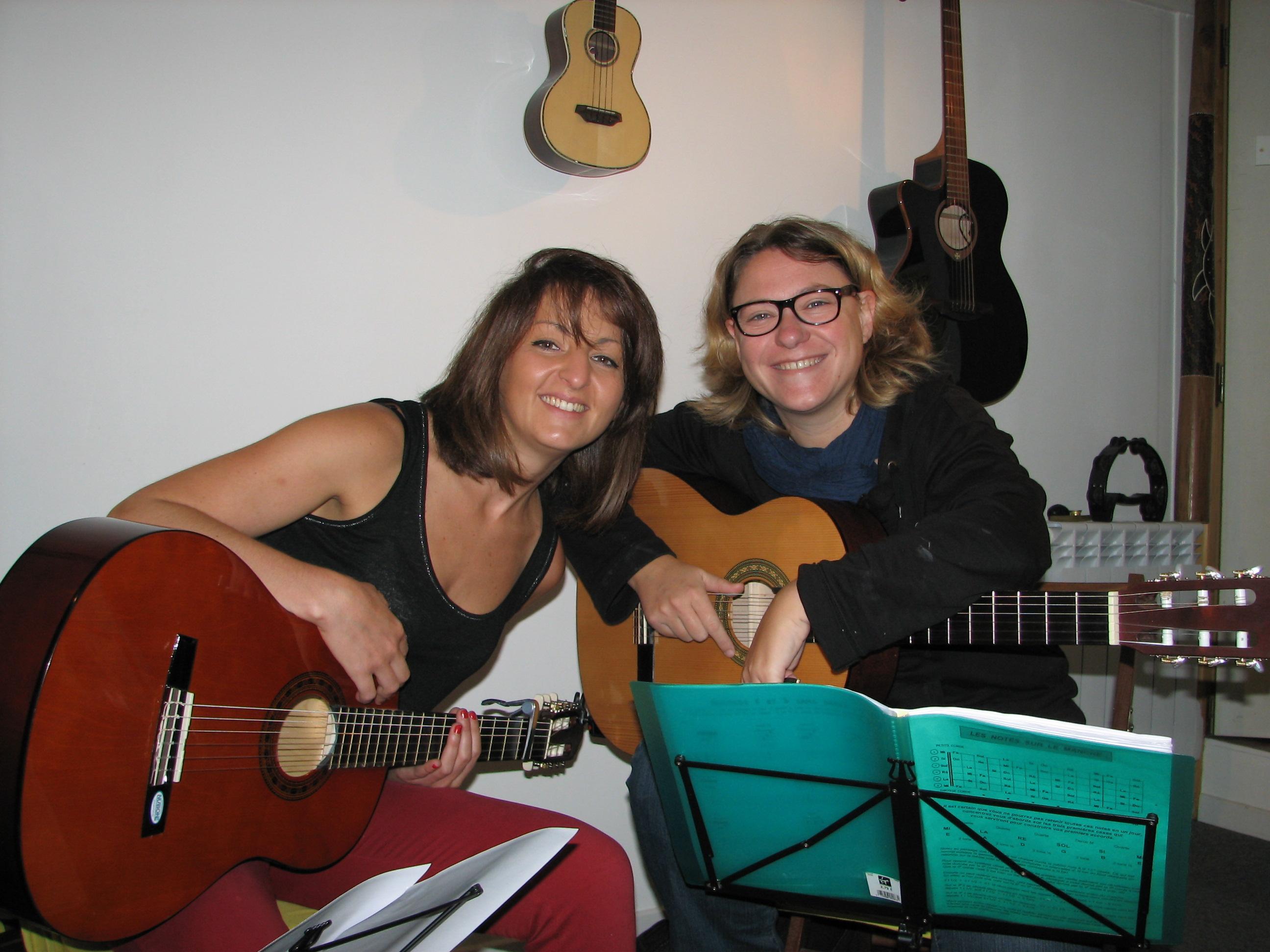 Béatrice et Christèle