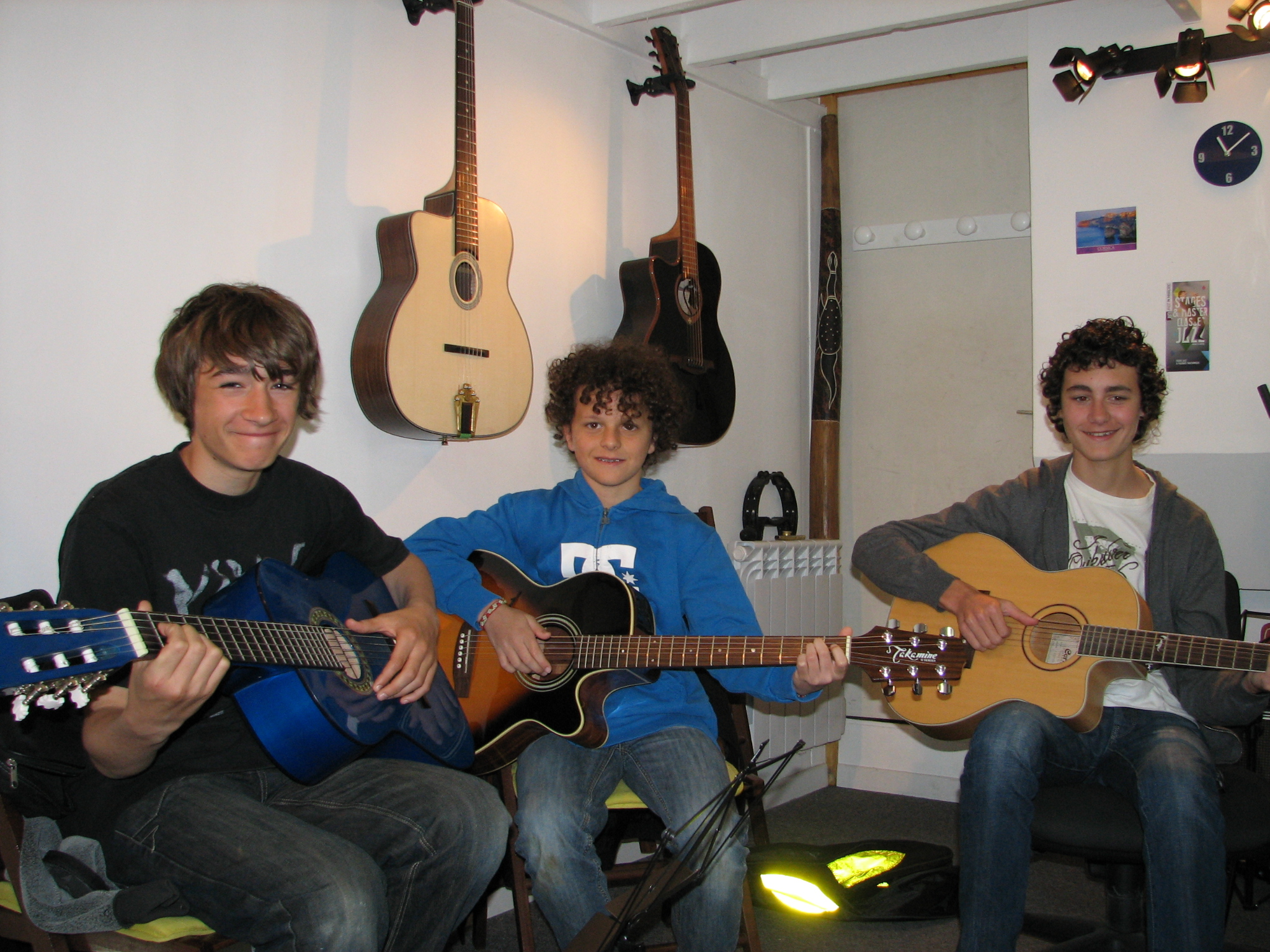 Hyppolite, Samy et Quentin