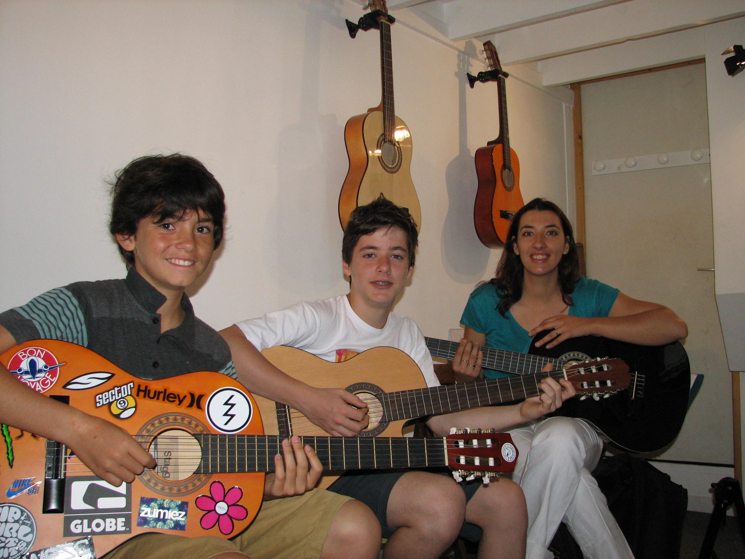 Kimo, Paul et Suzy