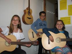 Aylin, Paul et Océane