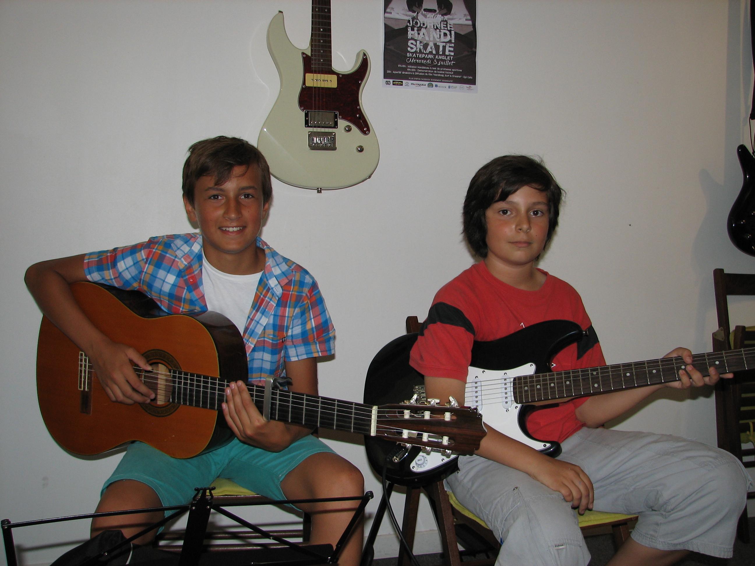 Arzhel et Timothy