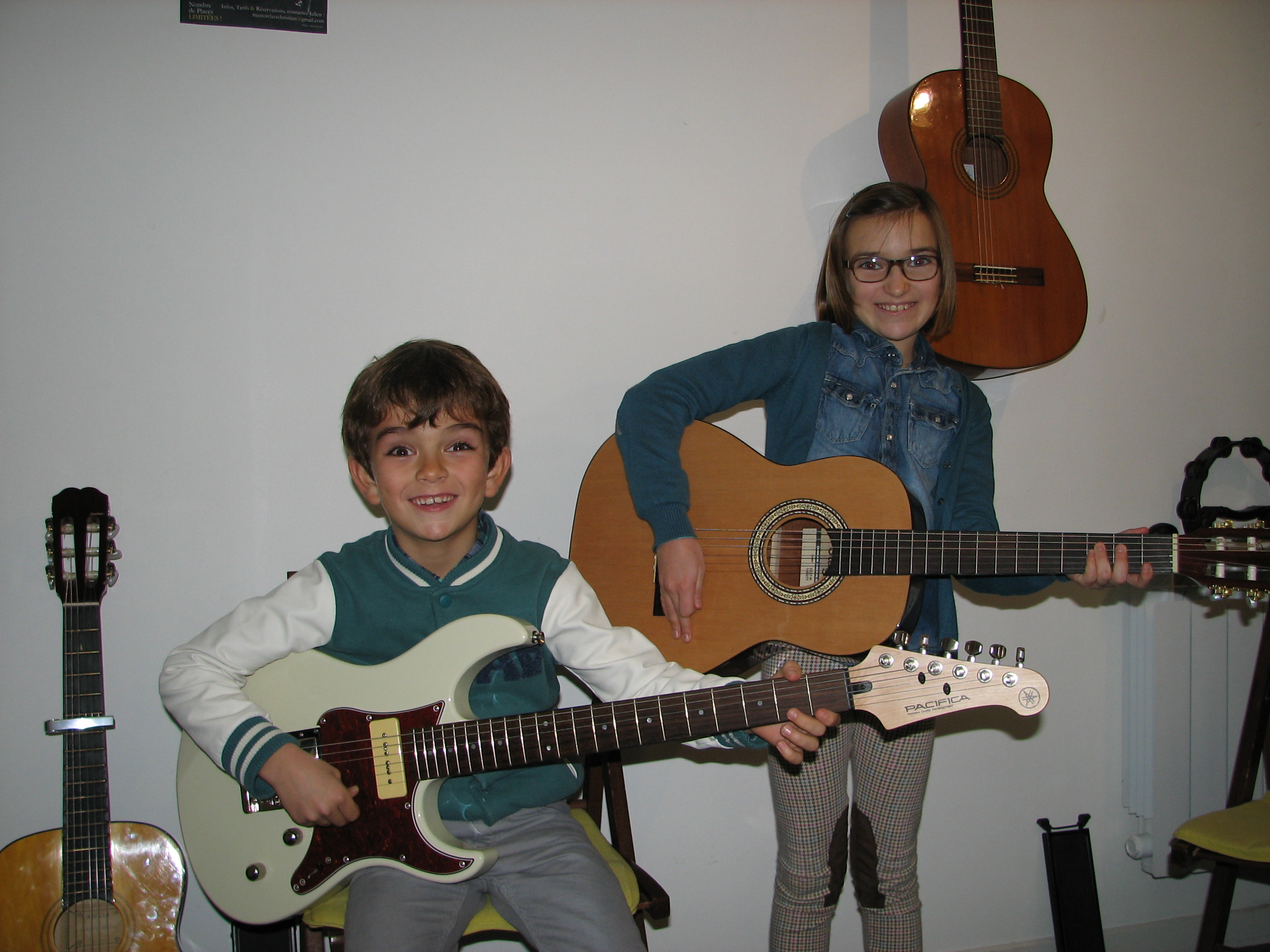 Bruno et Clara.