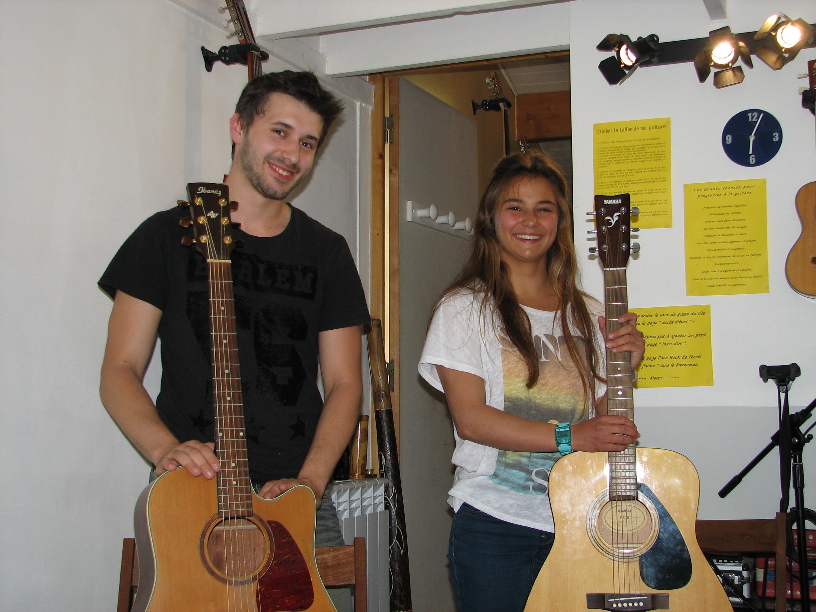 Aurélien et Marie.