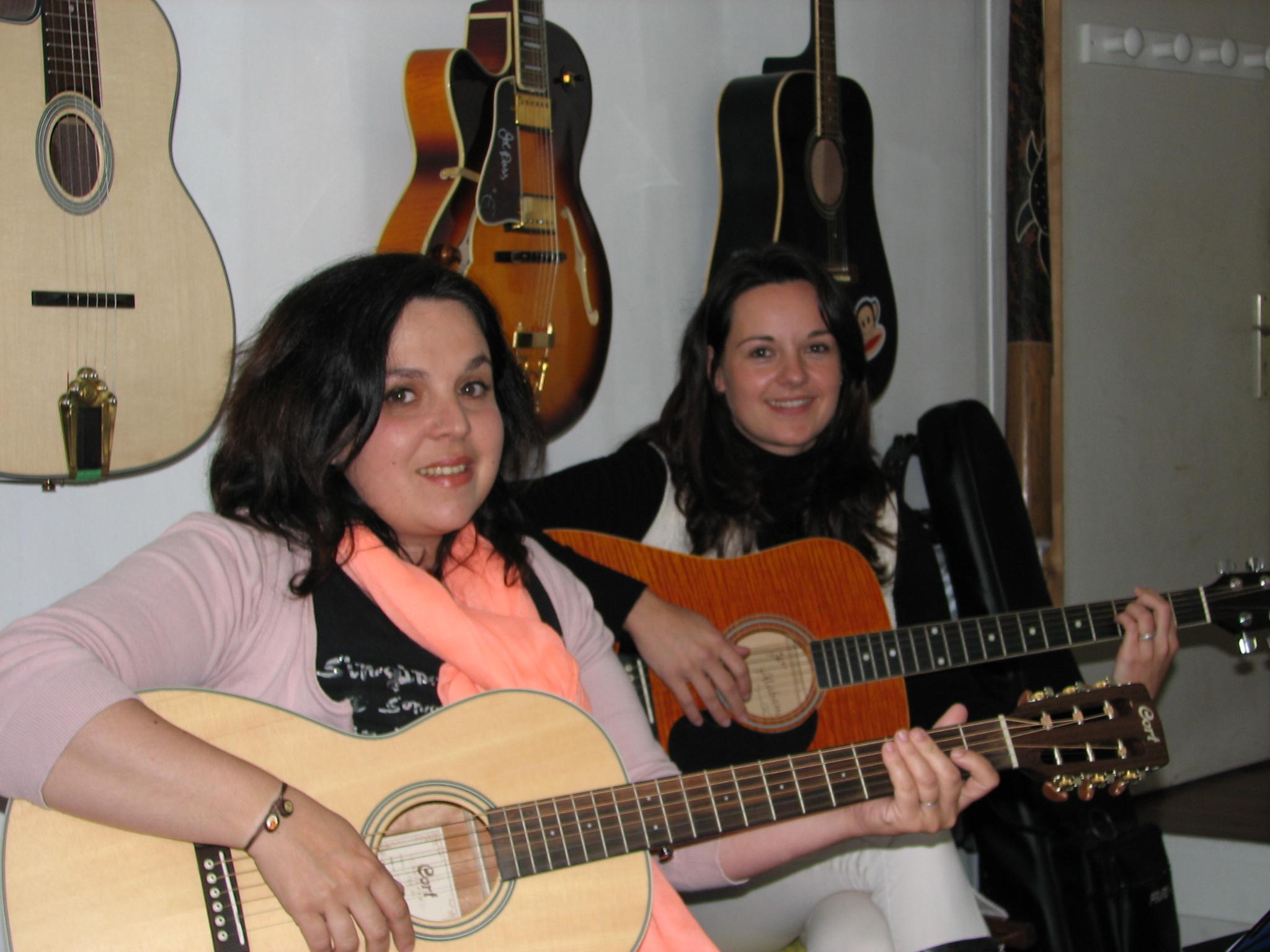 Marie et Élise