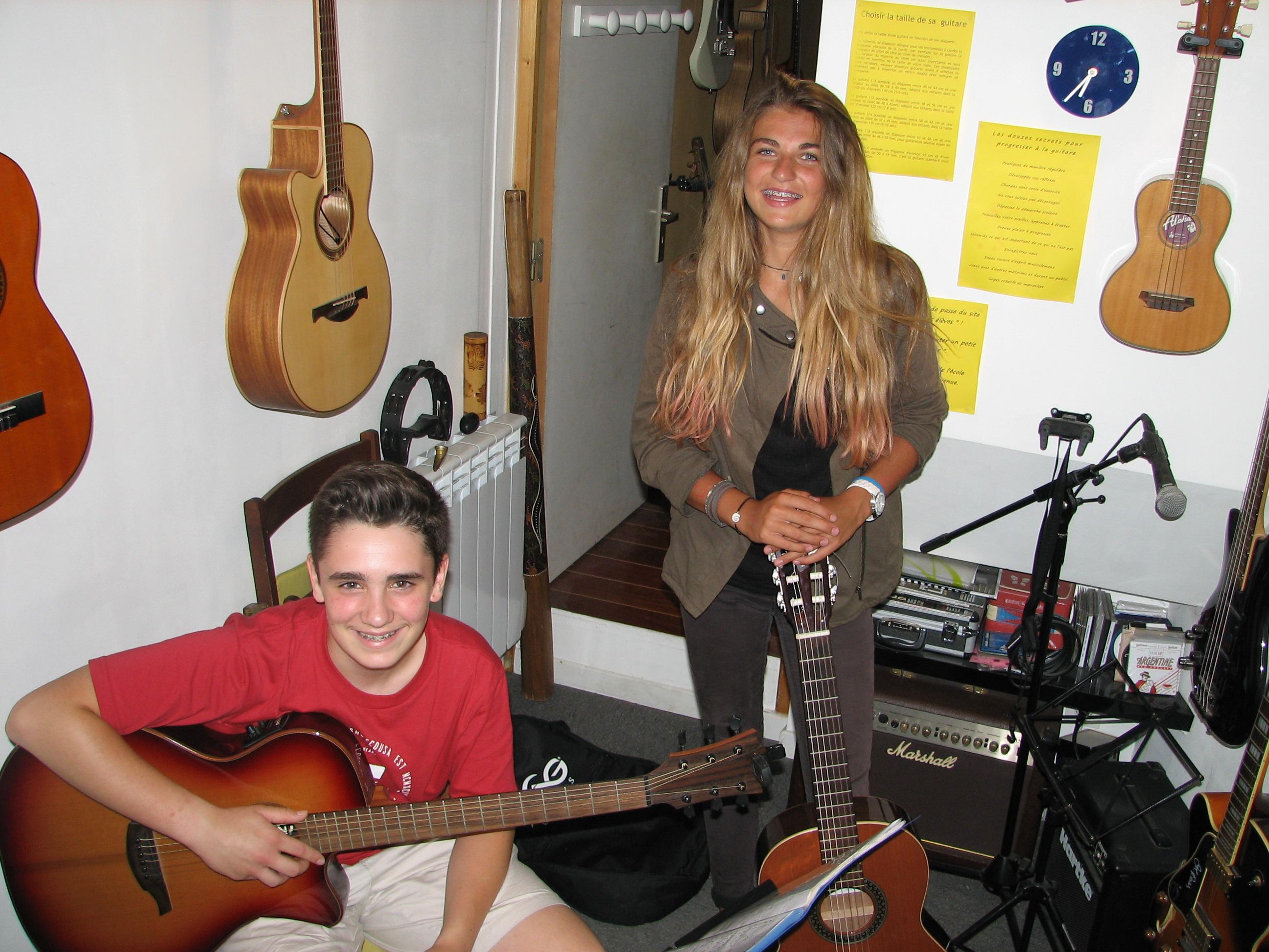Jon et Naia.