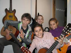 Gabin, Enea, Alexie et Louise