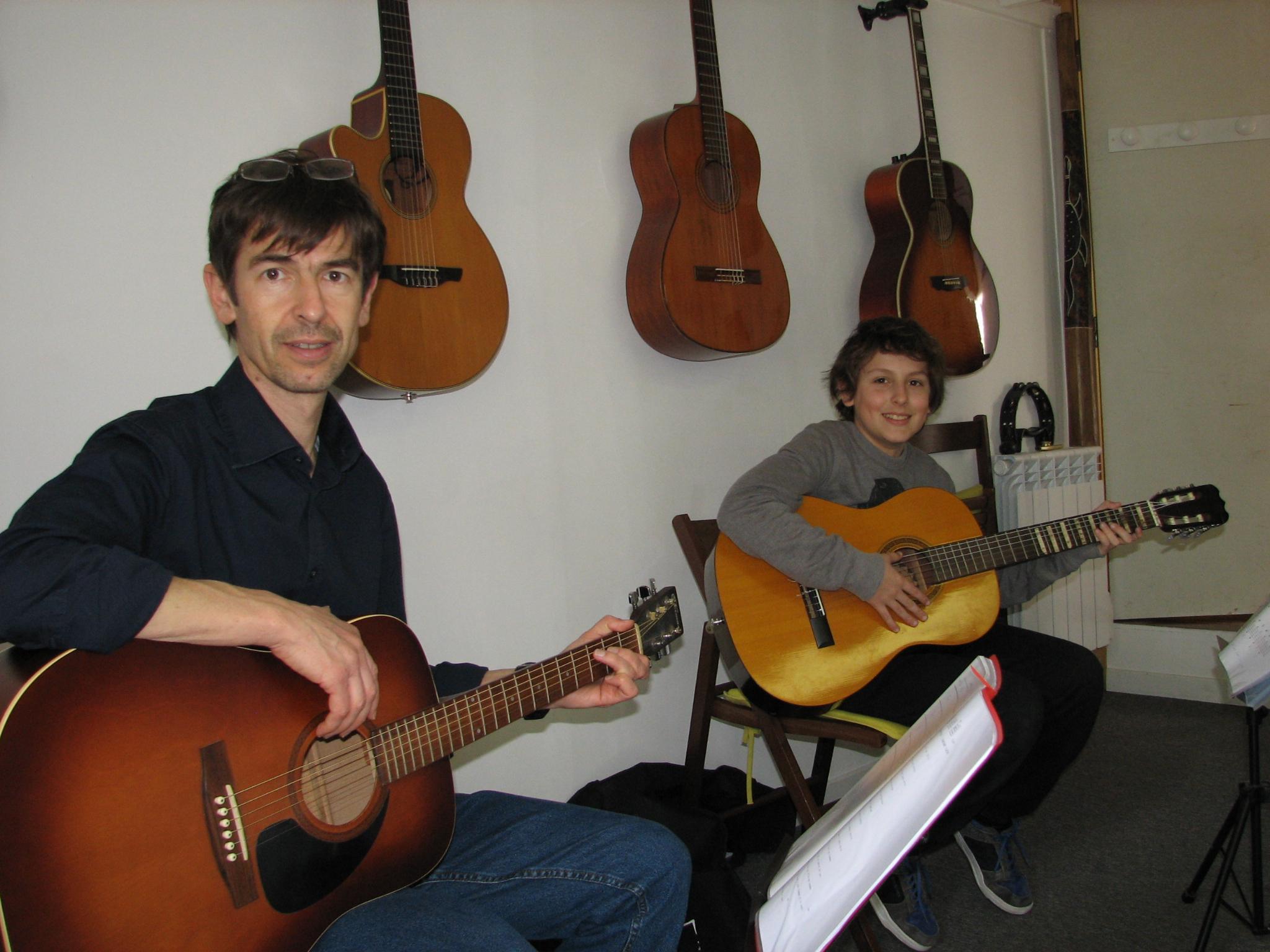 Gilles et Mattéo