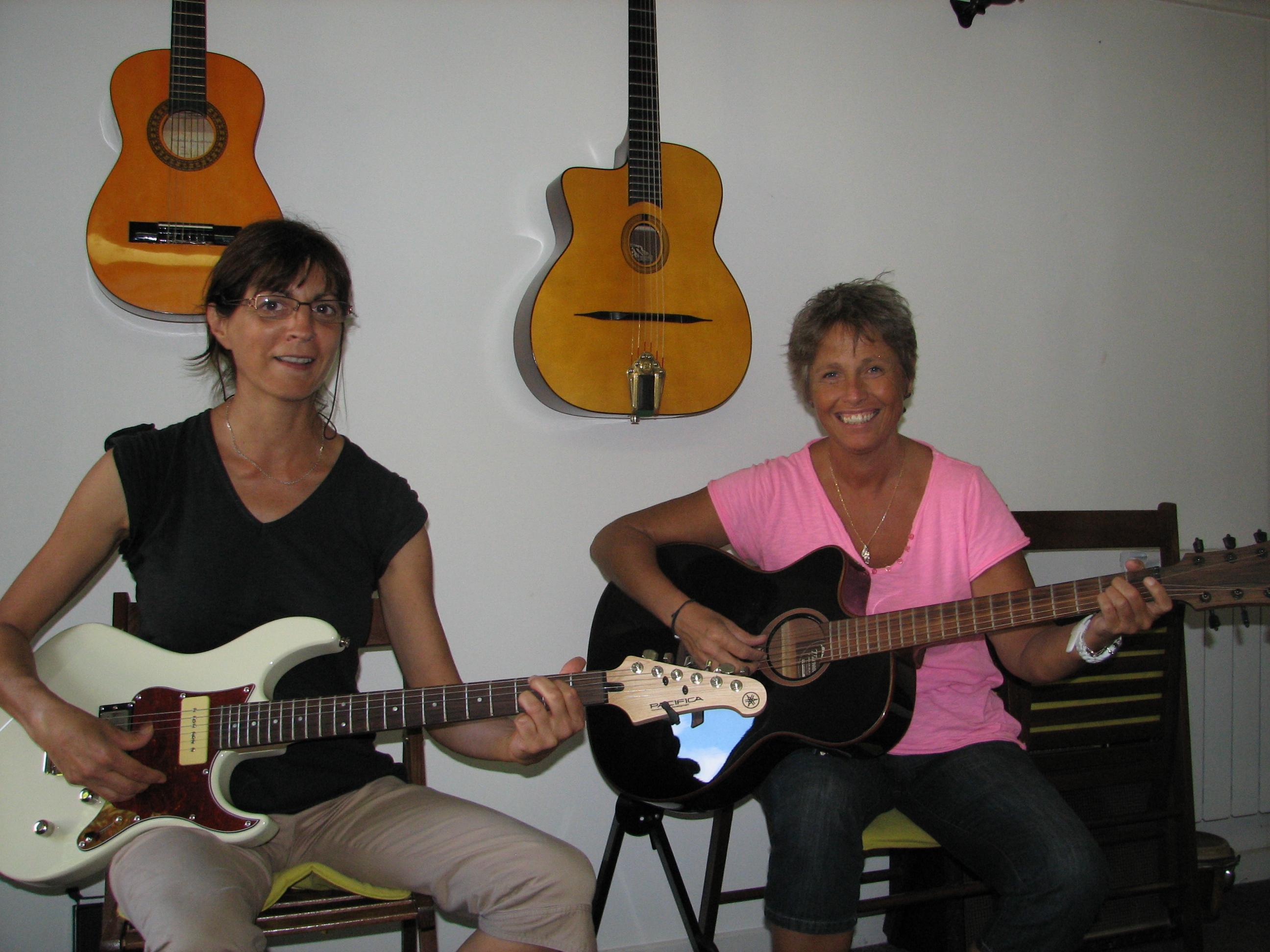 Christiane et Véronique.