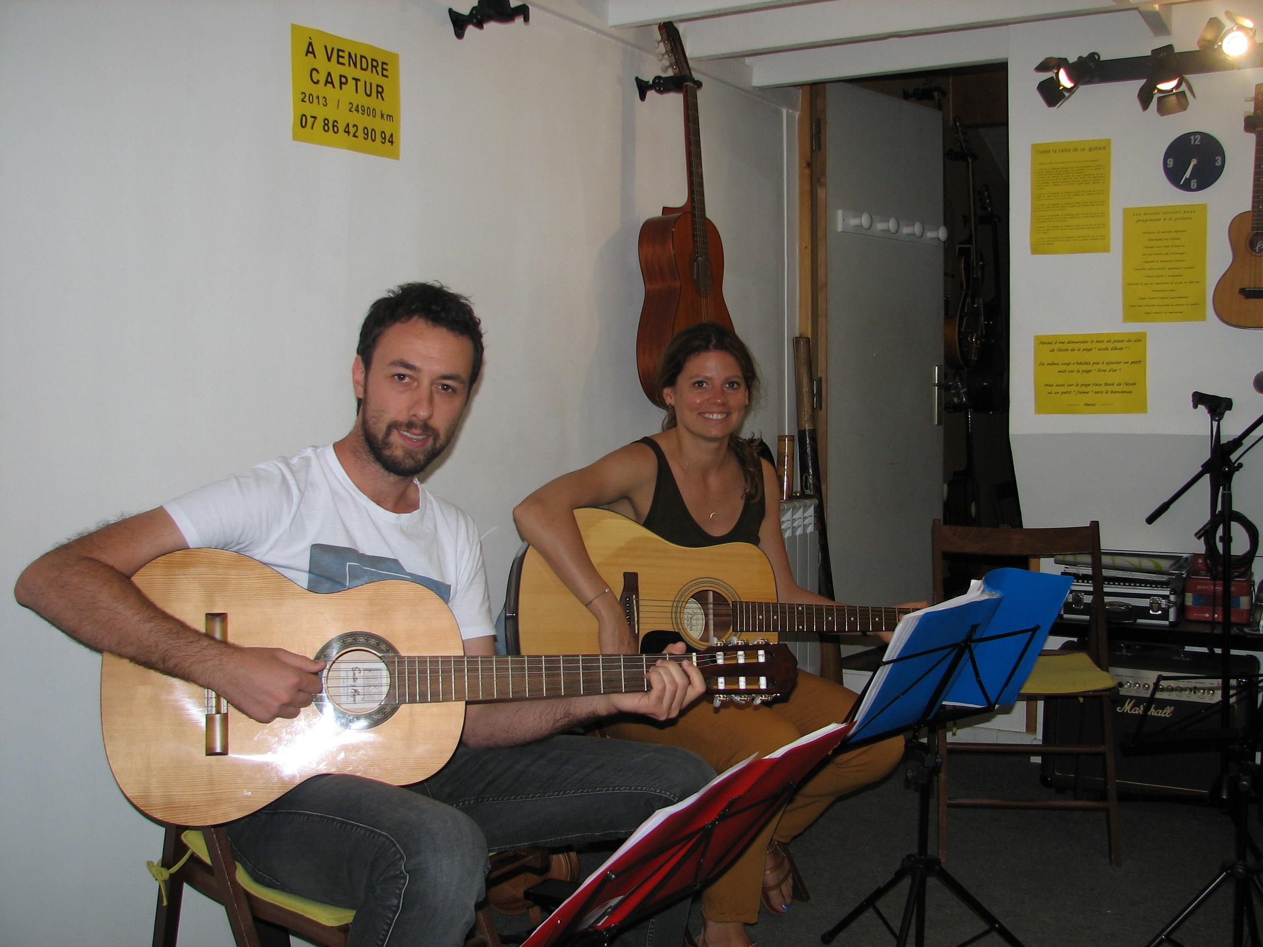 Ismael et Marjorie.