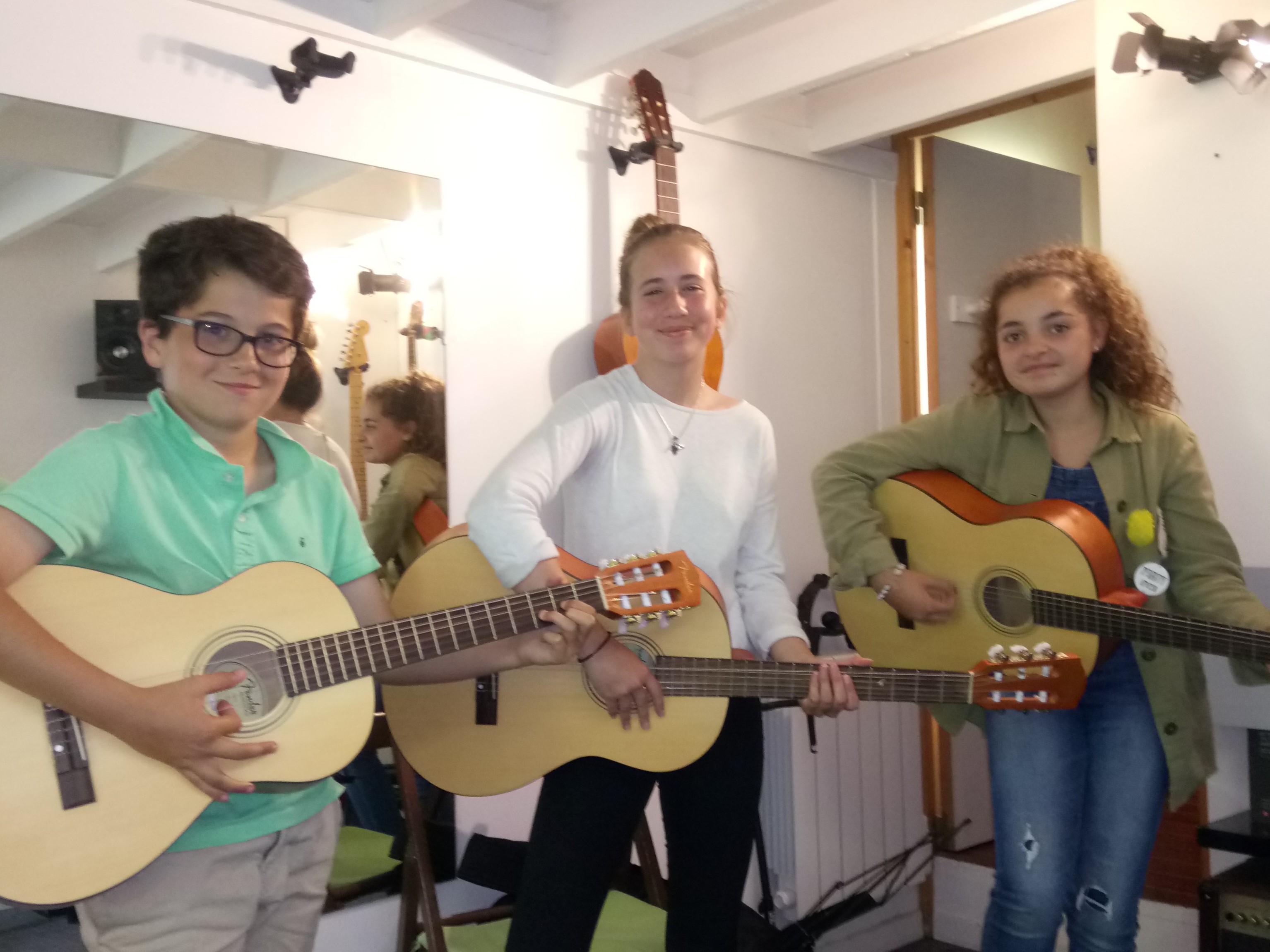 Paul, Aylin et Océane.