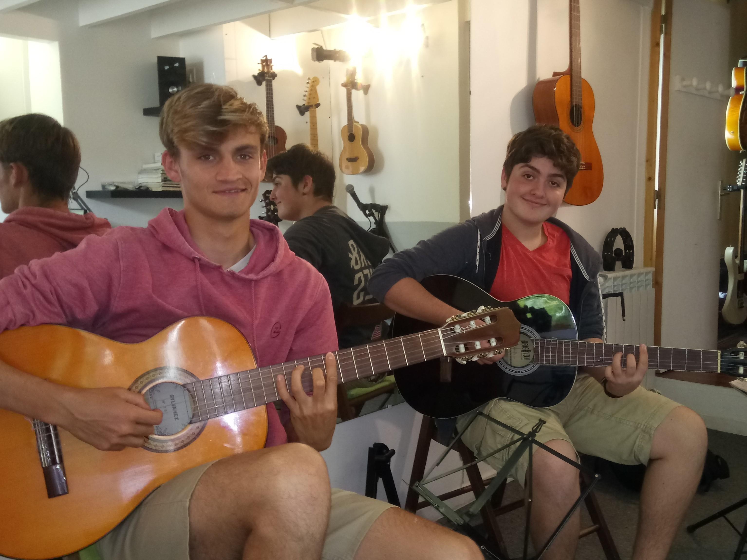 Nicolas et Pablo
