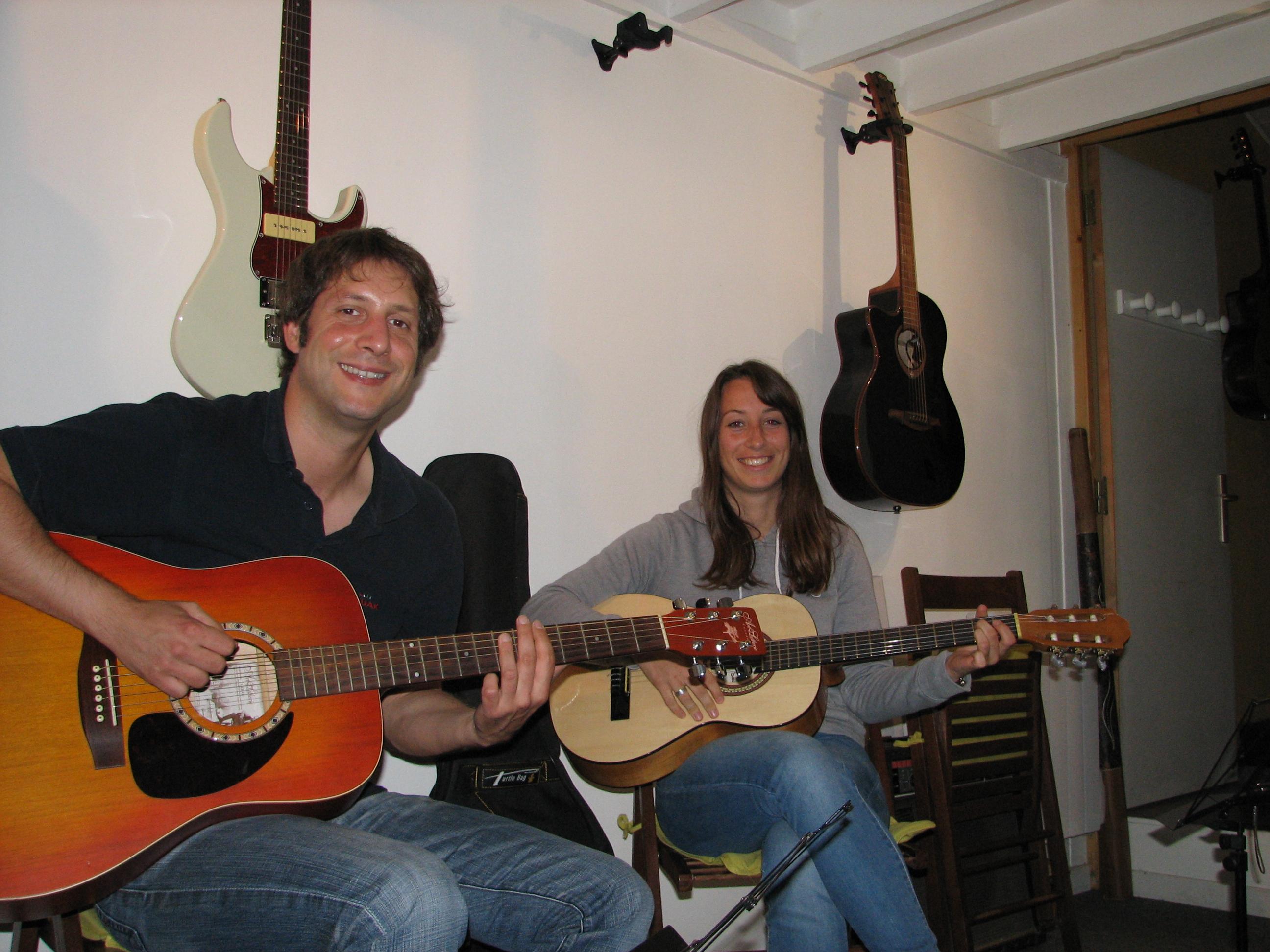 Yannick et Julie.