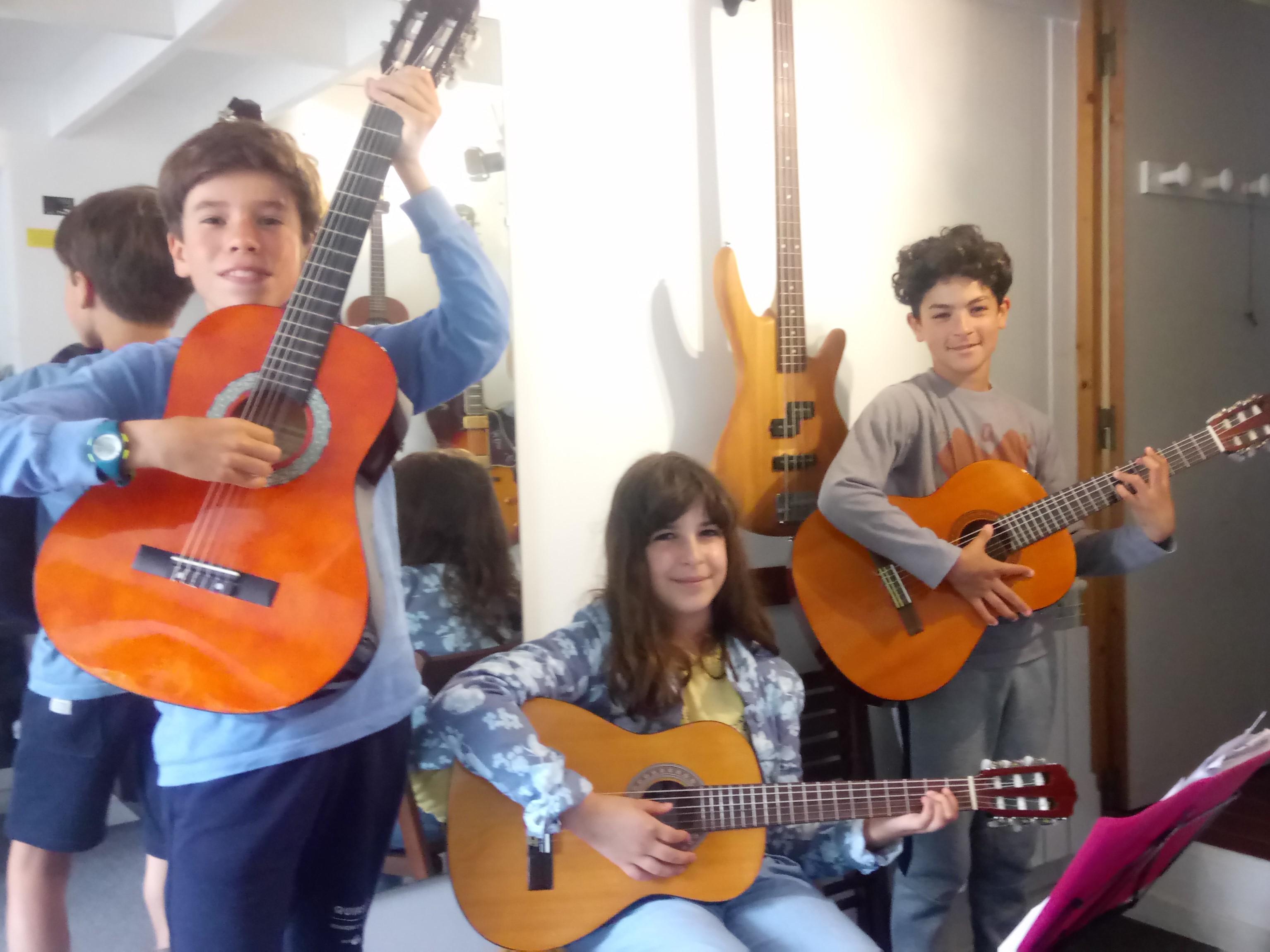 Mathéo, Claire et Jérémy