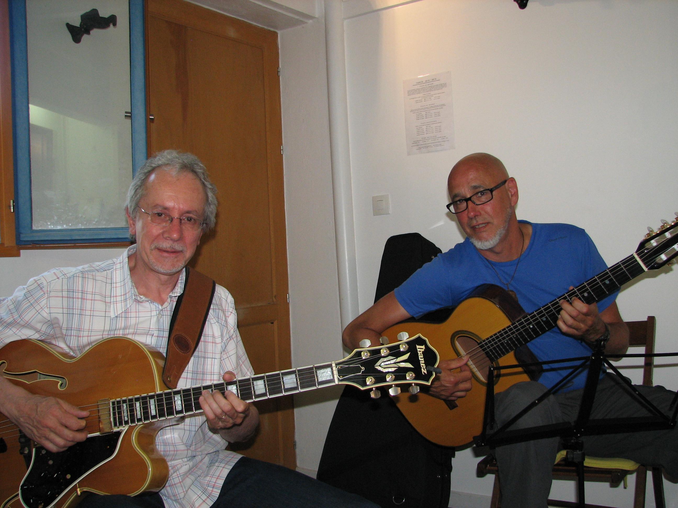 Denis et Philippe.