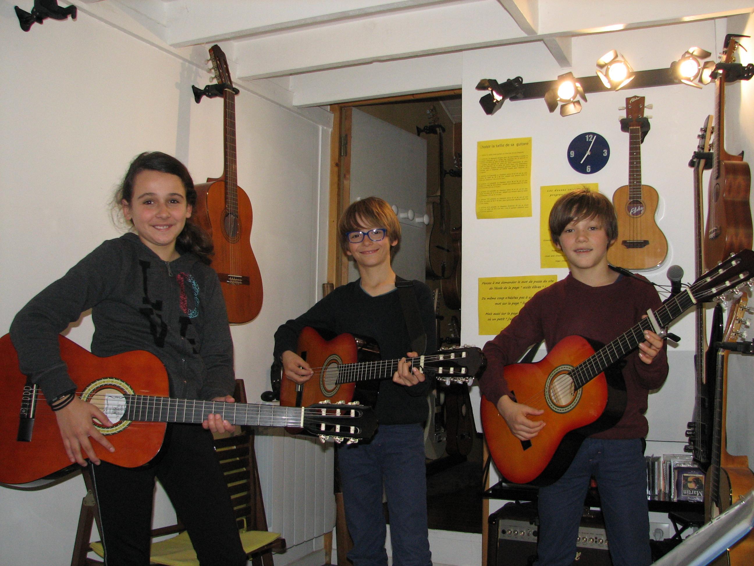 Amélie, Txema et Bixente.