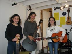 Axelle, Victoria et Carla