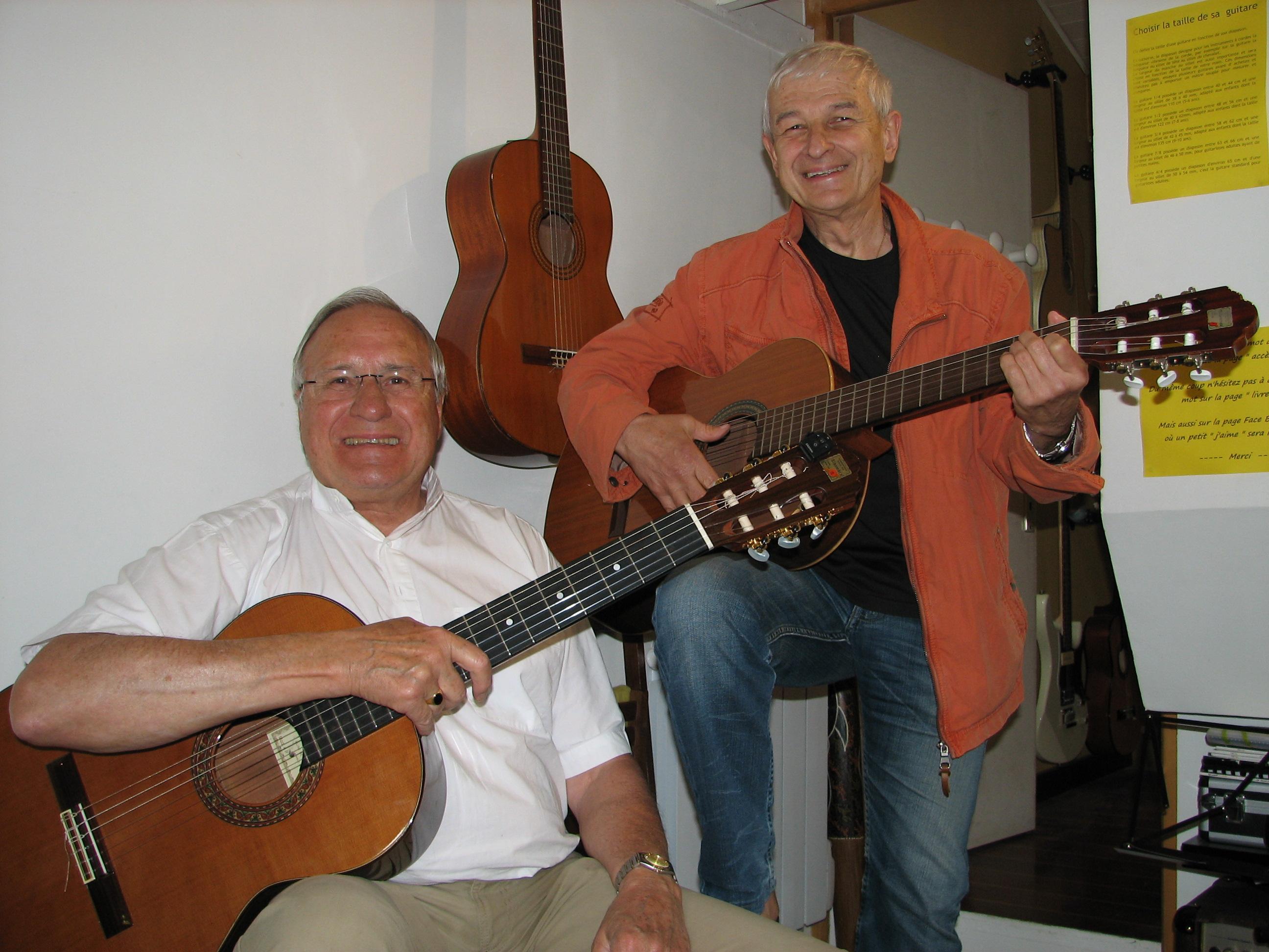 Jean-Pierre et Patrick.