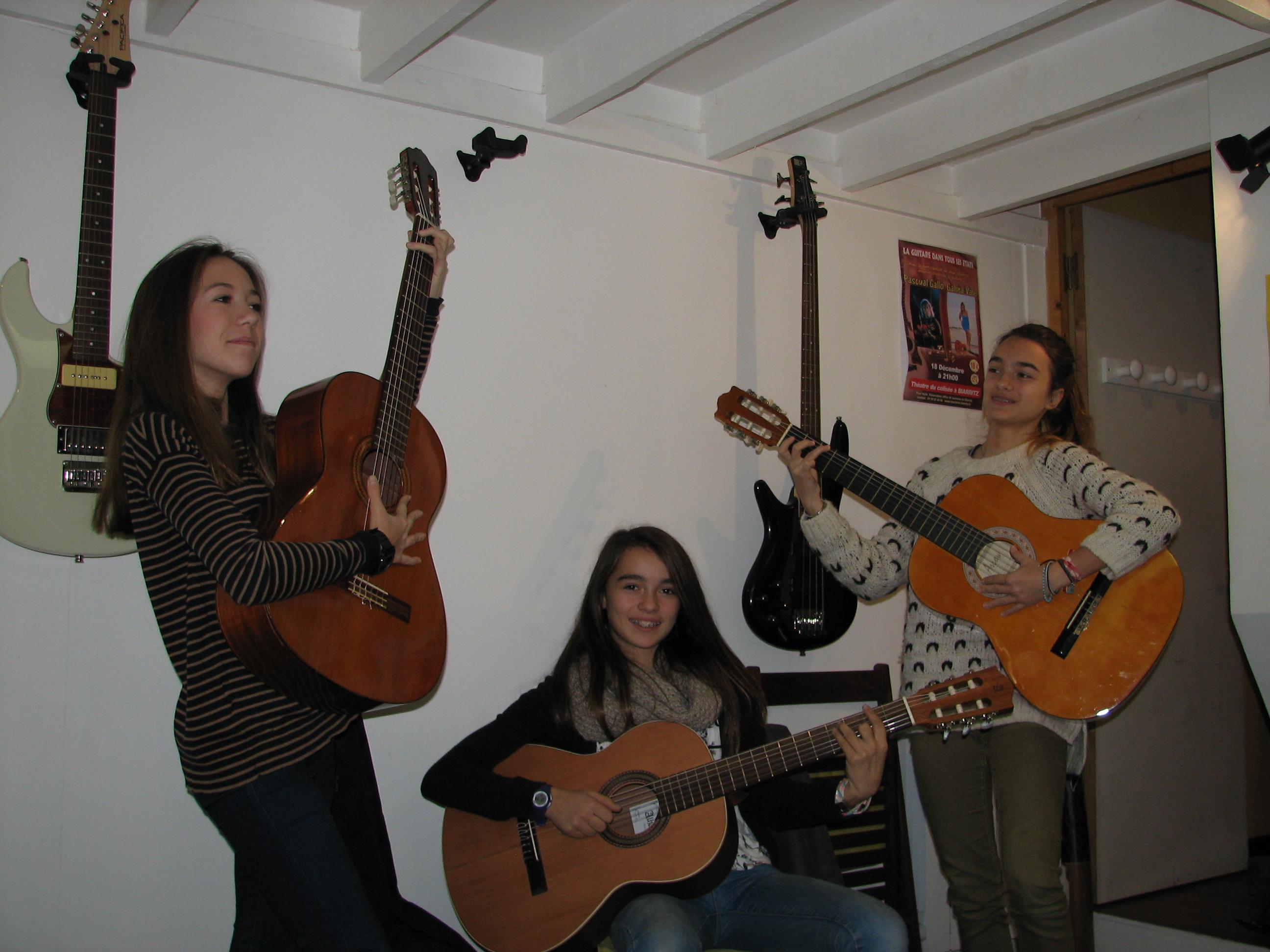 Charlotte, Camille et Louise
