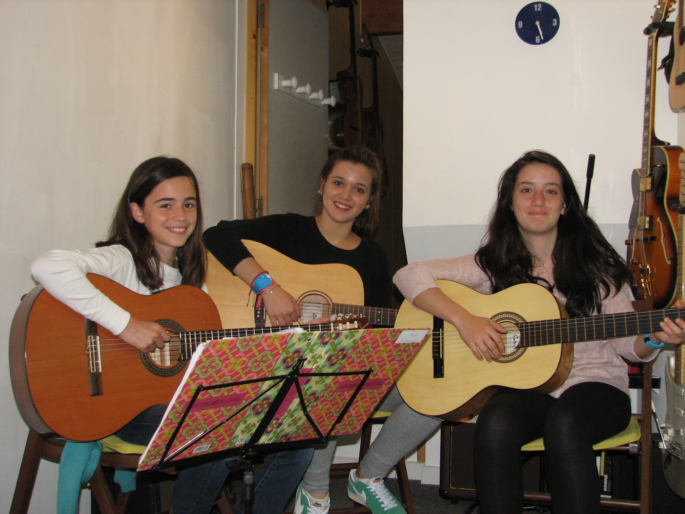 Maylis, Chloé et Maiana