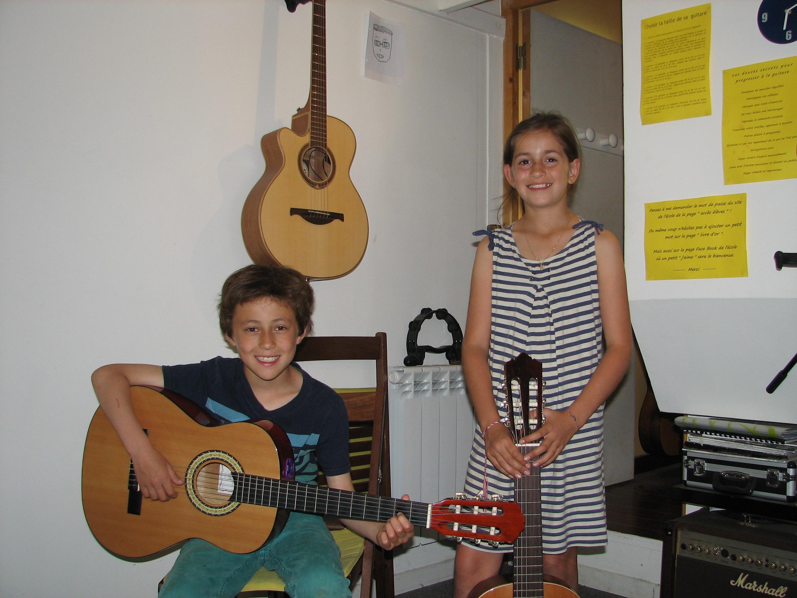 Anton et Inès.
