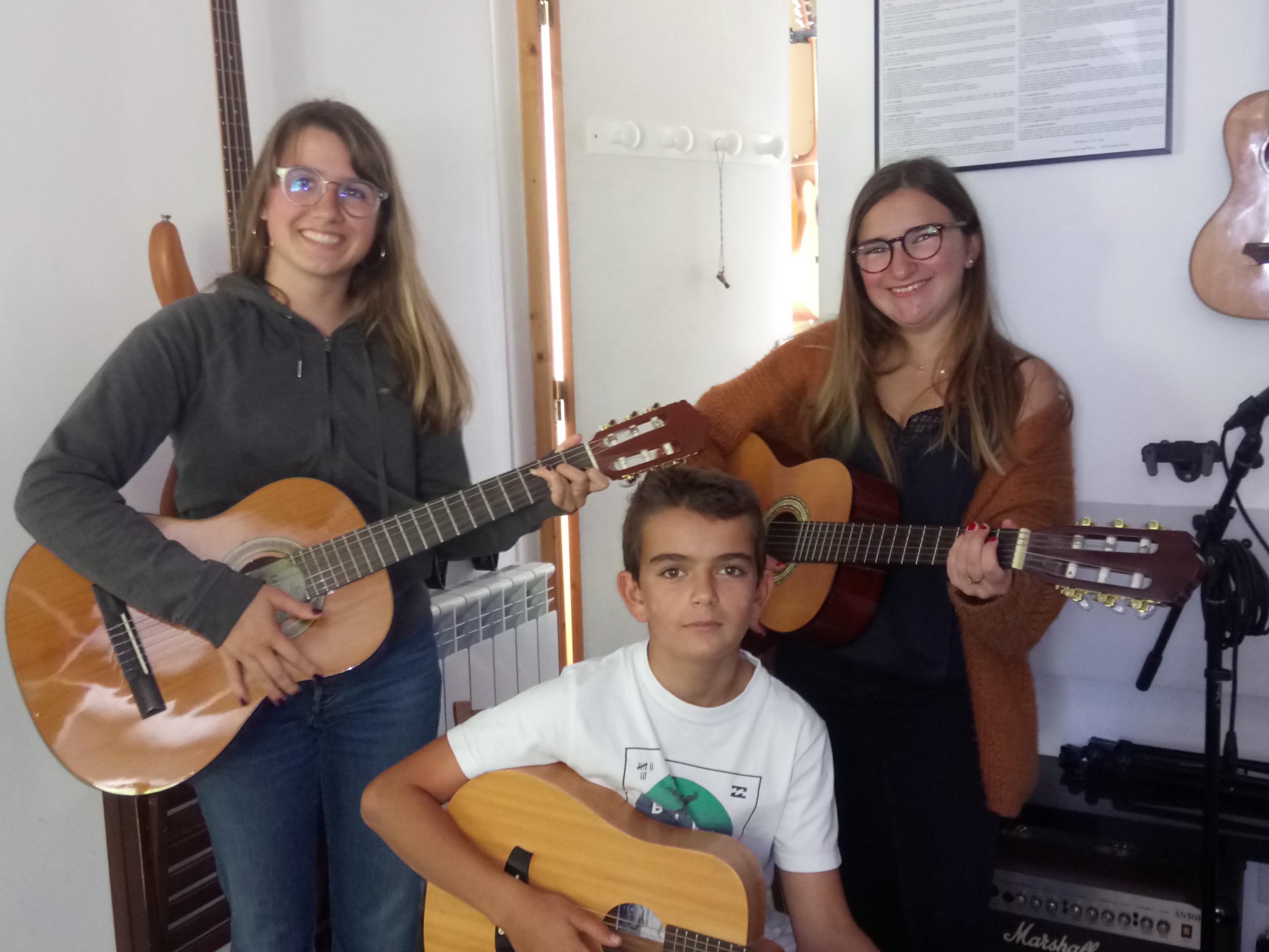 Lena, Bruno et Clara