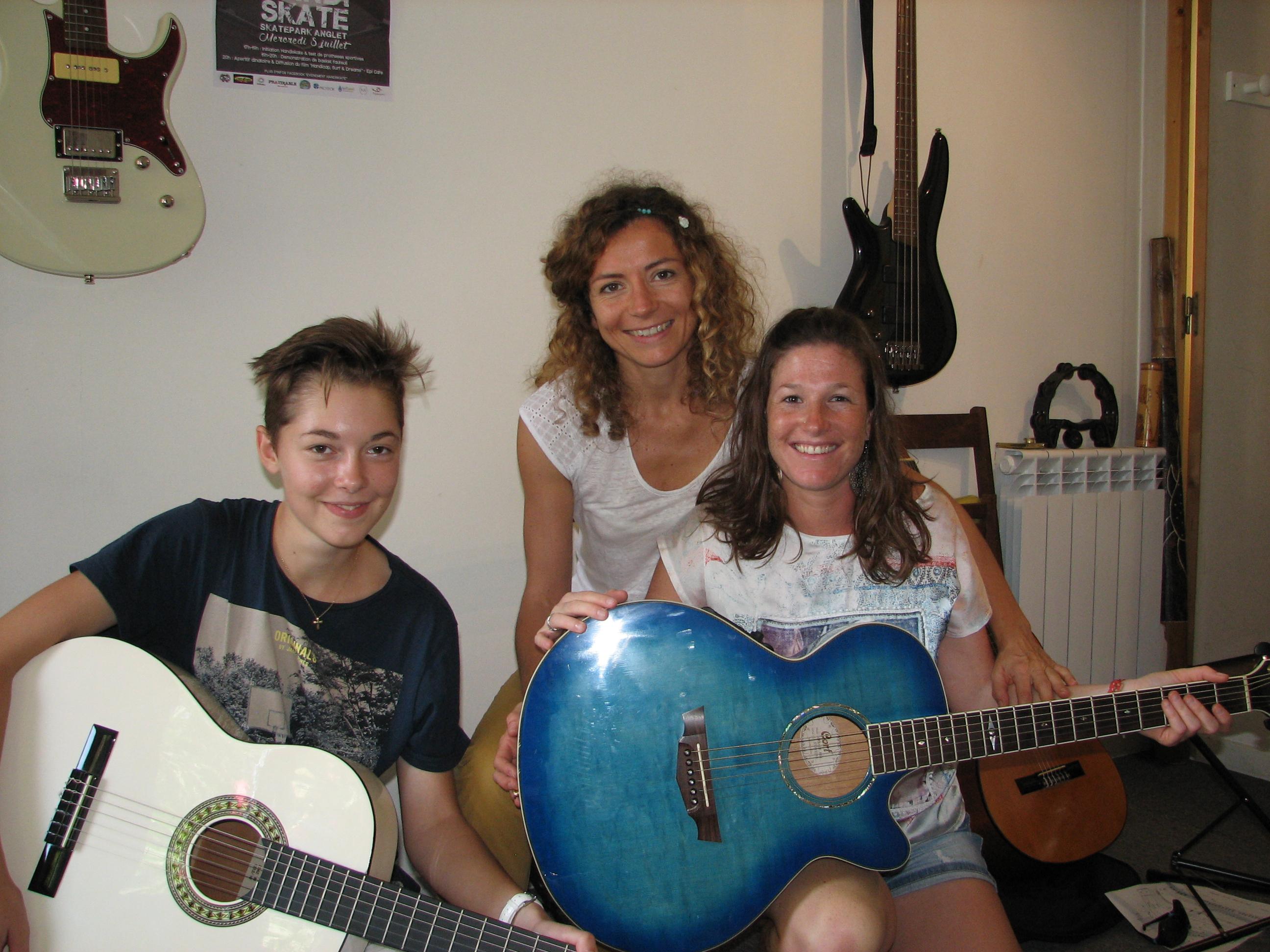 Diane, Marine et Angélique