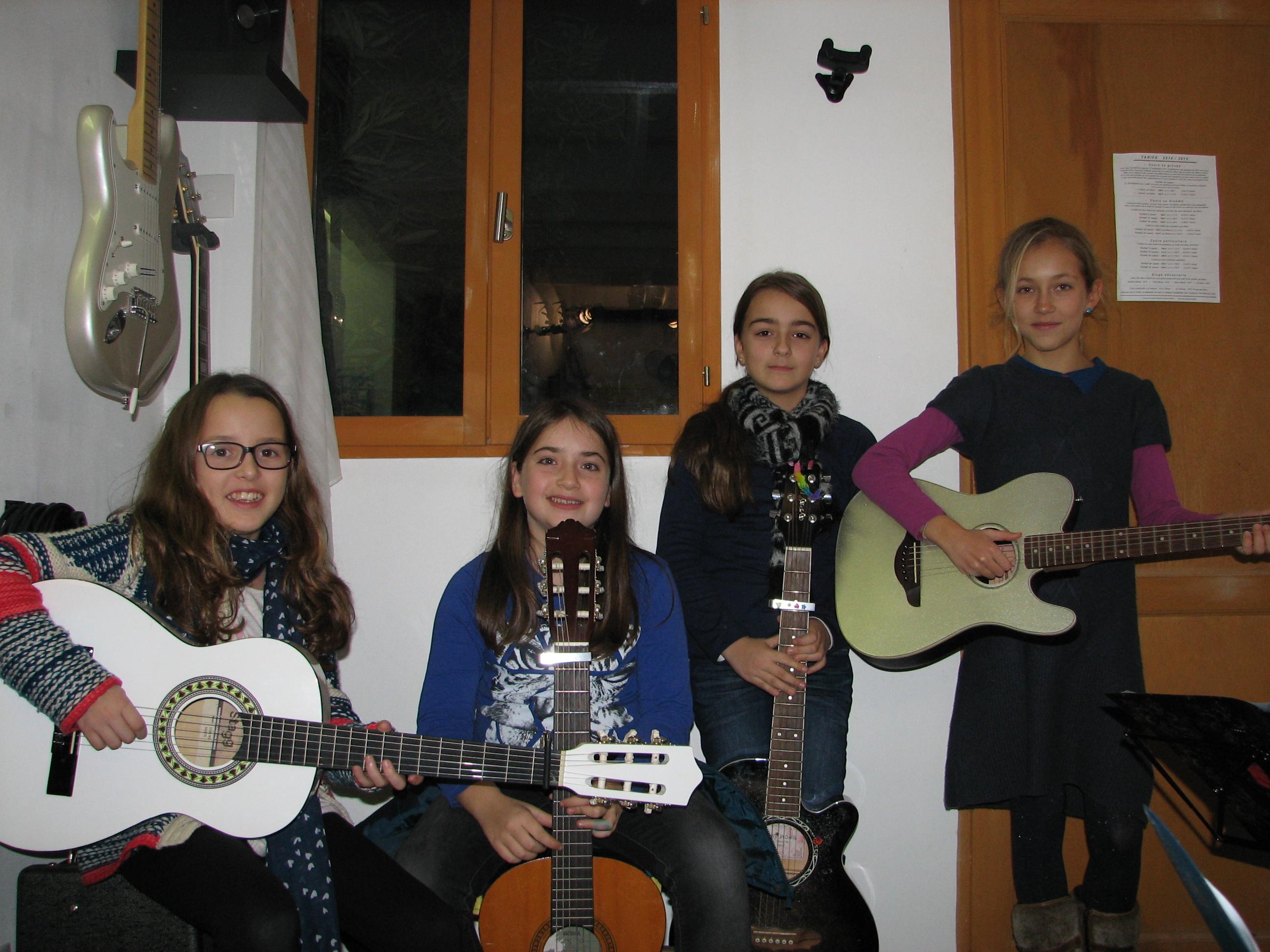 Ilona, Ana, Lou et Fanny
