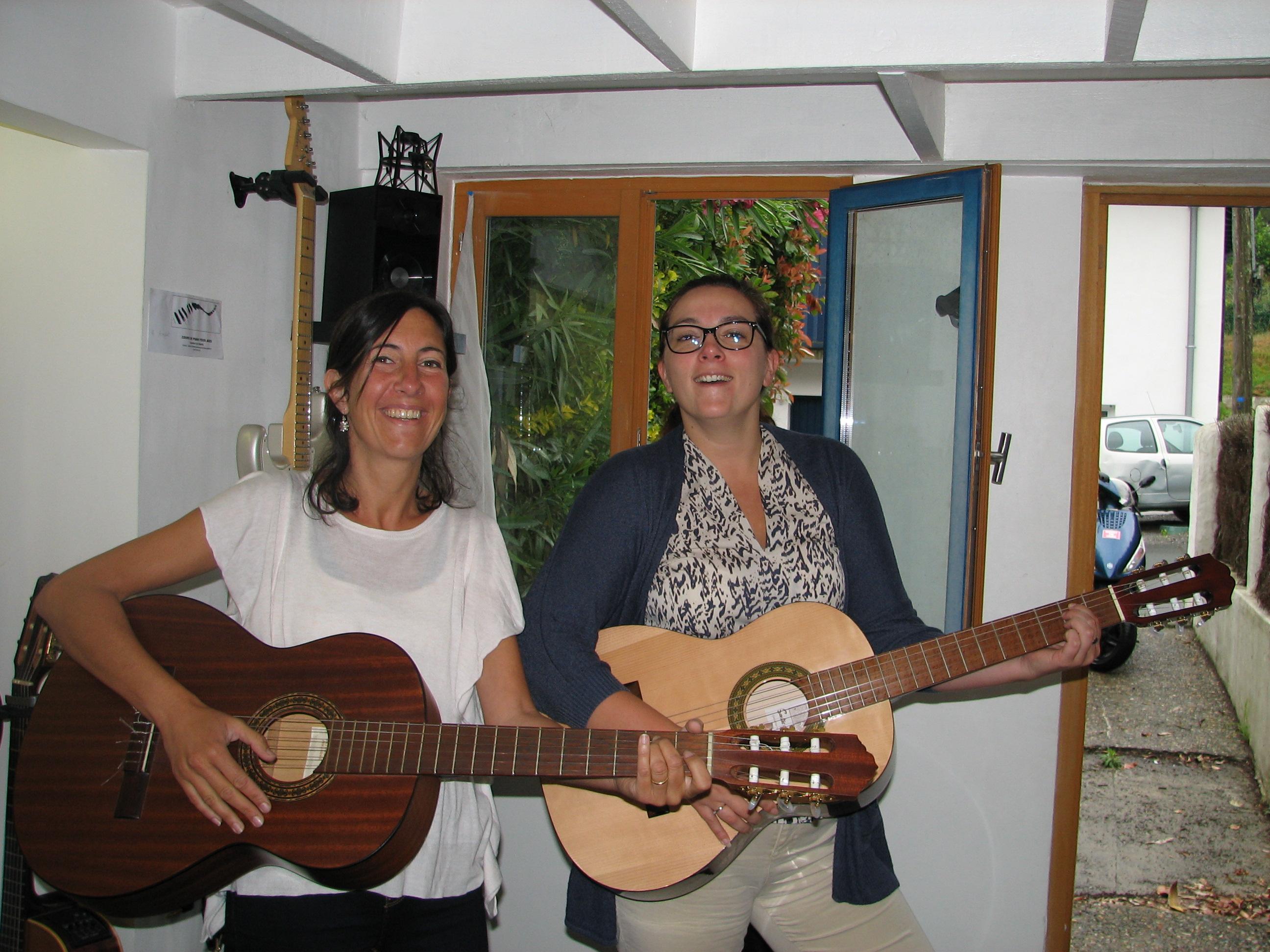 Florence et Aurélie.
