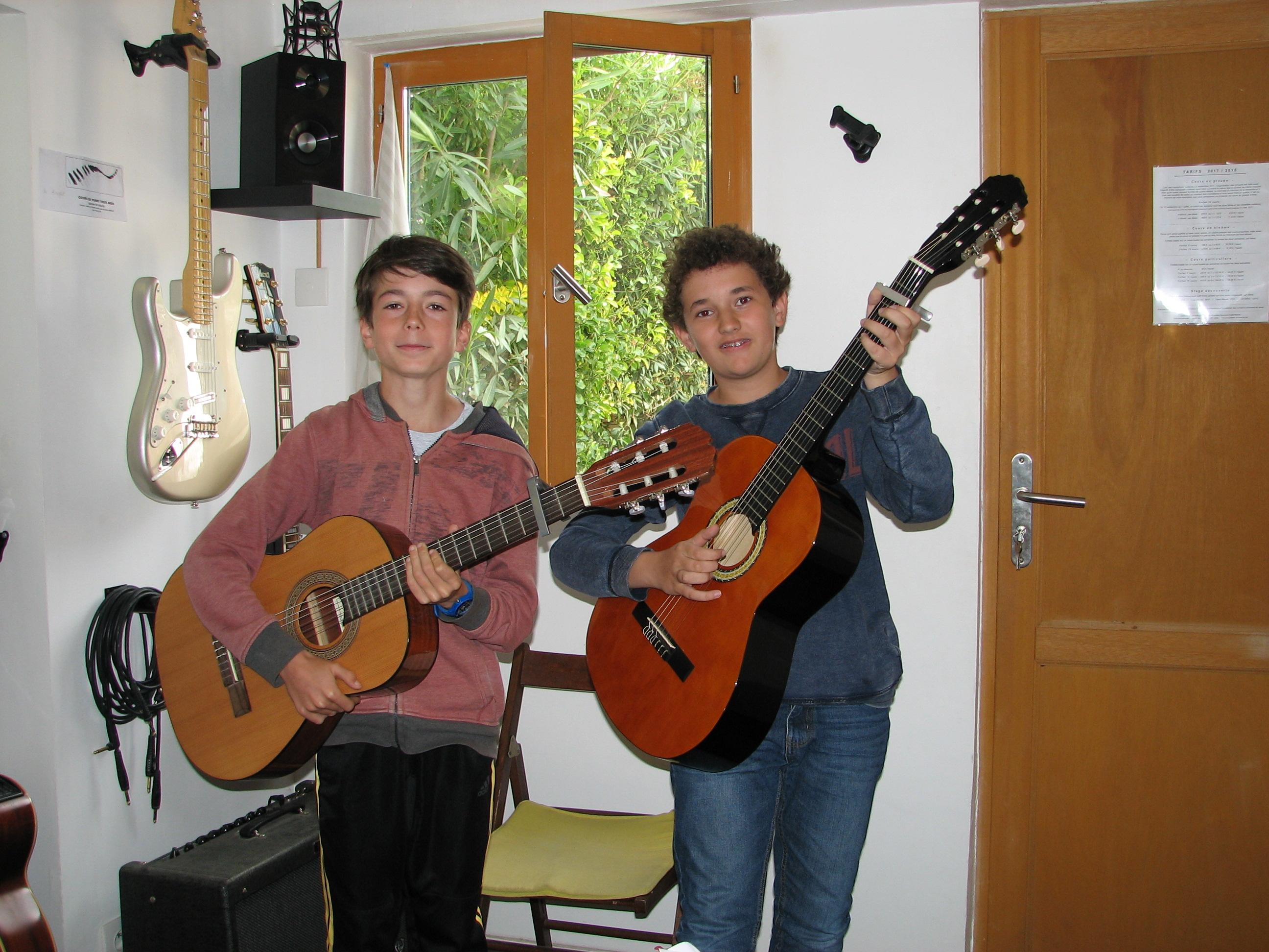 Baptiste et Alexandru.