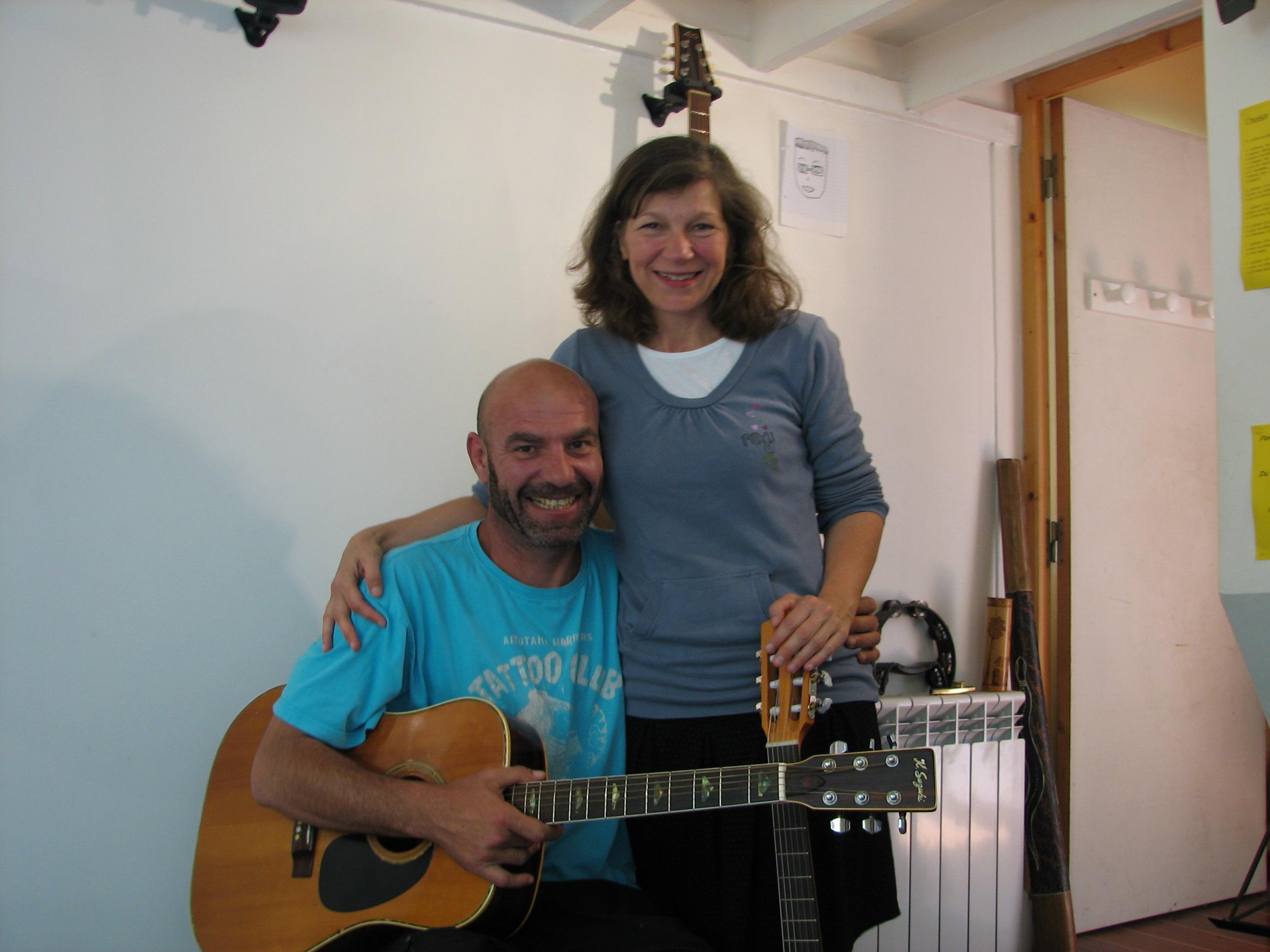 Pierre et Cathy.