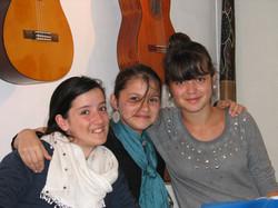 Maiana, Thaïs et Chloé