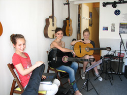 Yael, Lily et Marina