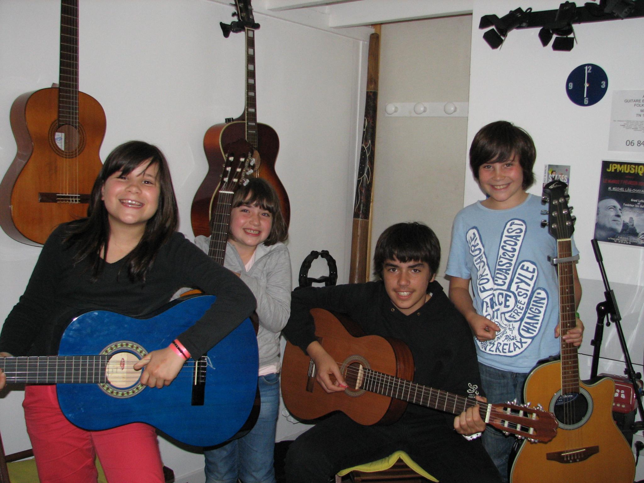 Marie-louna, Ana, Viviant et Paul