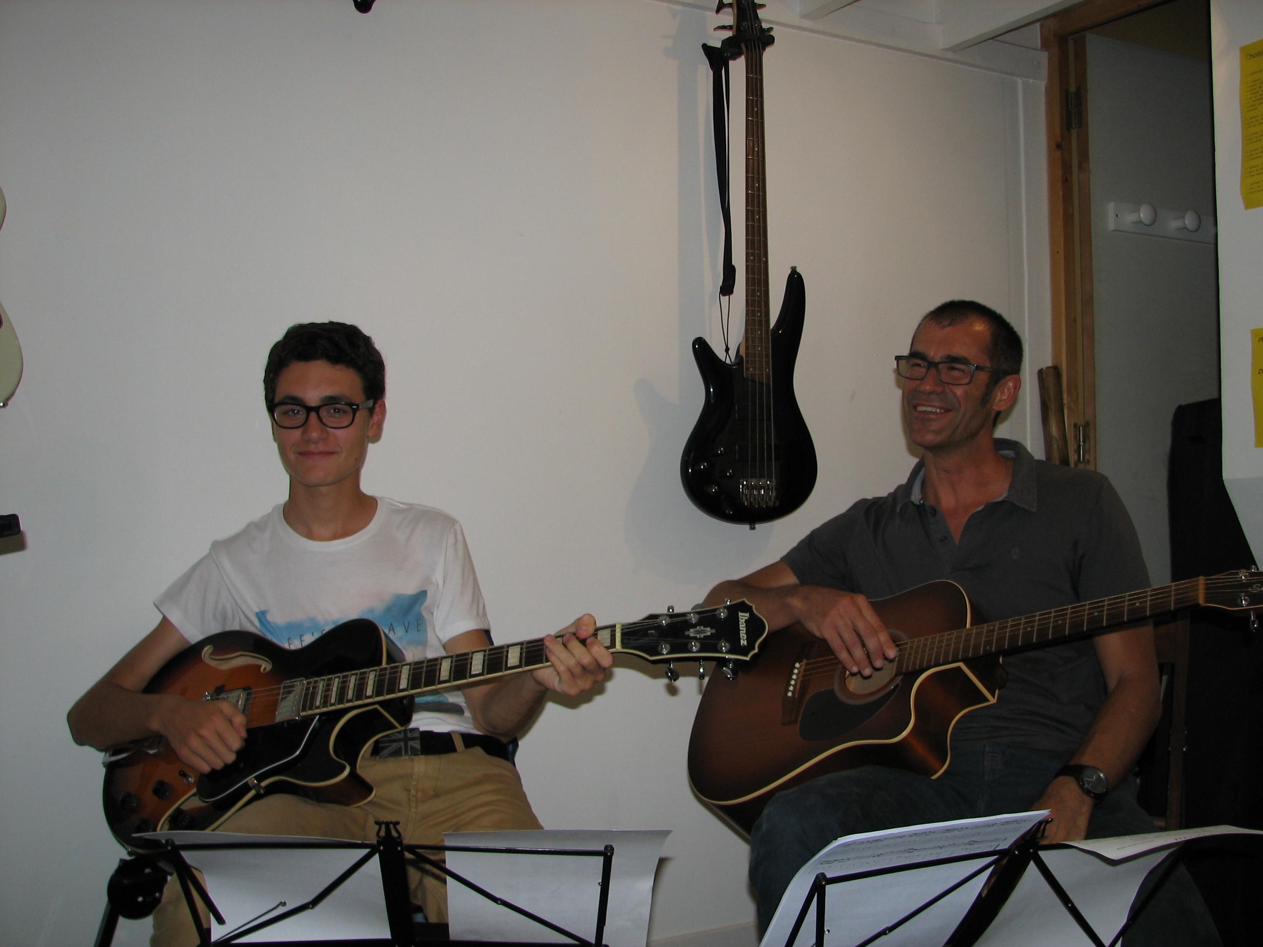Quentin et Laurent.