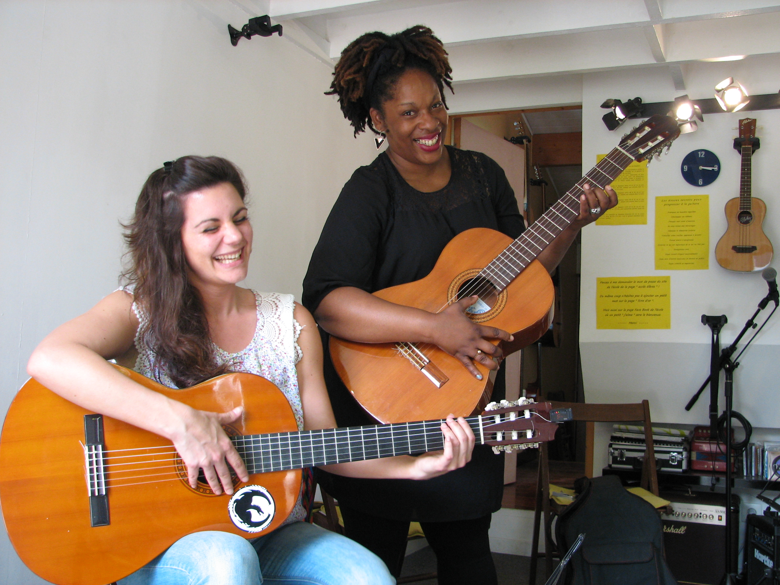 Angélique et Marie-Paule.