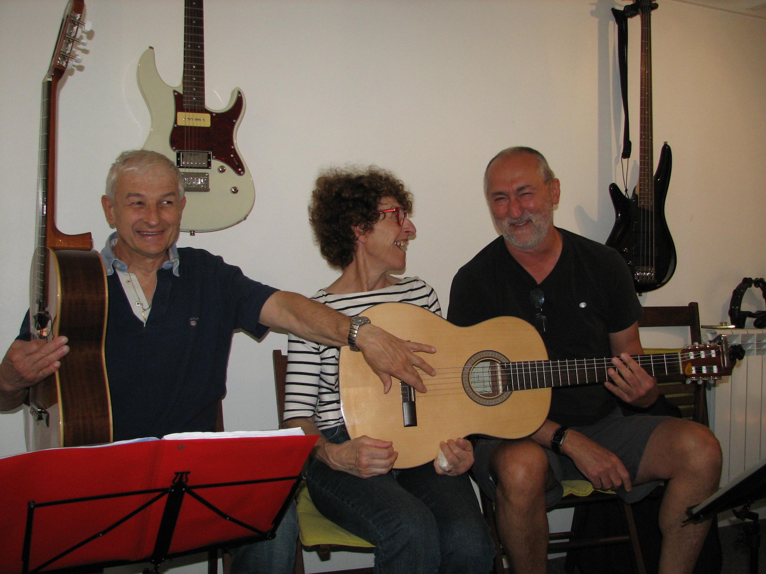 Patrick, Marinette et Jean-pierre