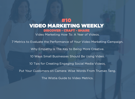 Video Marketing Weekly | Issue #10