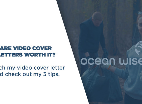 Tips for Creating Video Cover Letters