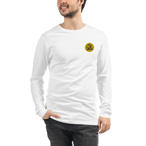 Embroidered Strong  Long Sleeve Tee