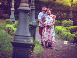 Dipti Gaurav Maternity Shoot