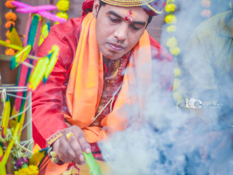 Sandhya weds Shashank